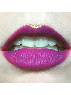 15 Easy Lip-Art Ideas You Can Totally Pull Off 5fbf12b0e736a