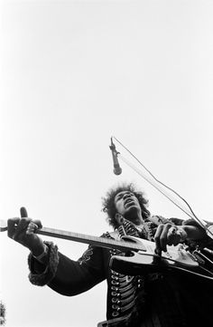 From Jimi Hendrix Experience free concert at S.F. Goldengate Park 1967.