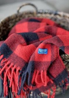 Pendleton Buffalo Plaid throw