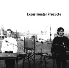 "EXPERIMENTAL PRODUCTS. A synth duo from Philadelphia/Northern Delaware USA, members Mark Wilde and Michael Gross produced 8-track gear recordings, then had their music pressed to vinyl. In 1984 they released the 3 song 12"" EP ""Glowing in the Dark"", 2000 copies."