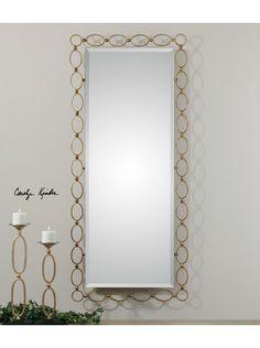 Lulu & Georgia - Golden Egg Mirror, Large