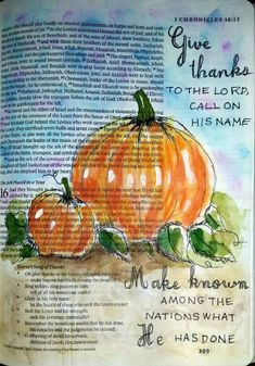 Watercolor painting -Bible journaling art by @peggythibodeau www.peggyart.com