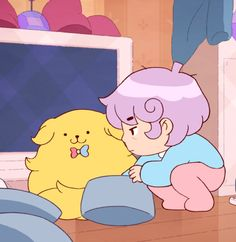 some sticky pictures from bee and puppycat