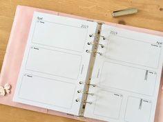 Kalendereinlagen | Der Countdown läuft Countdown, Organizer, Planer, Diaries, Notebook, Bullet Journal, Organization, Beautiful, Day Planners