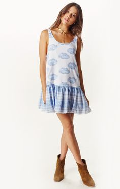 elixir dress by FAITHFULL THE BRAND #planetblue