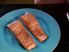 Pan-Seared Salmon Video : Food Network - Alton Brown