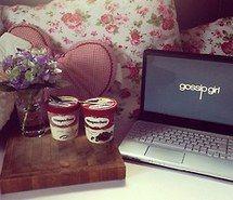 Mac and ice cream