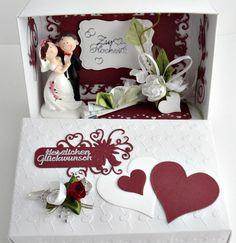Gastgeschenke - Geldgeschenk zur Hochzeit ( HZ II) - ein Designerstück von A-Z-Bastelshop bei DaWanda