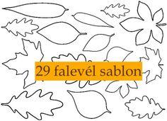 Transzfer képek őszi- és halloween témában | PaGi Decoplage Felt Crafts, Diy And Crafts, Crafts For Kids, Paper Crafts, Lavender Nails, Autumn Crafts, Leaf Art, Paper Toys, Colouring Pages