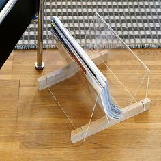Bygg ett tidningsställ av plexiglas - Fixa - Hus & Hem