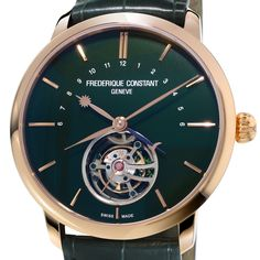 Frederique Constant Jubilee Edition 10 Years Heart Beat Manufacture - Slimline Tourbillon This year, FREDERIQUE CONSTANT GENEVE celebrates its 10th anniversary of its in-house handcrafted movements (See more at http://watchmobile7.com/articles/frederique-constant-jubilee-edition-10-years-heart-beat-manufacture) #watches #frederiqueconstant @frederiqueconst