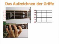 Die erste Gitarrenstunde - 2 einfache Songs und Akkorde Gitarre lernen online…