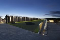 From ArchDaily    Architects: Heneghan & Peng Architects  Location: Antrim, Northern Ireland, UK  Design Team: Monika Arczynska, Jorge Taravillo Canete, Chris Hillyard, Kathrin Klaus, Carmel Murray, Padhraic Moneley, Catherine Opdebeeck, Helena del Rio  Project Year: 2012  Photographs: Hufton + Crow