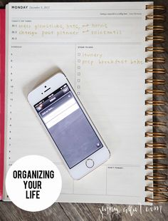 Organizing Your Life:  Calendars & To Do Lists - http://jennycollier.com/?p=10899