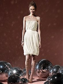Social Bridesmaids #white/ivory #bridesmaid #dress