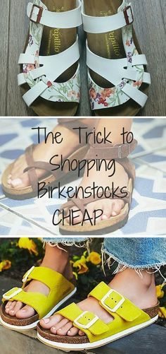 8388d4cc1 Birkenstock Sale Happening Now! Shop the perfect shoe to transition to the  Spring and Summer