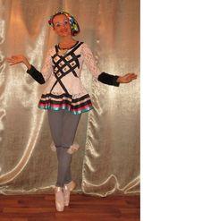 harlequine andrea dobrodinska costume created too