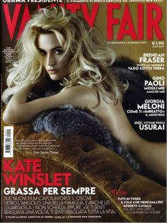 Kate Winslet For Vanity Fair Italia, December 2008