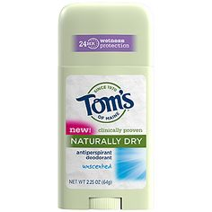 This deodorant works better than my old clinical strength deodorant and is a lot safer to use. Tom's of Maine deoderant (especially lavendar scent) and toothpaste are awesome!