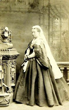 I have never seen this image of Queen Victoria. Pity its all blurry Circa Mids… Victoria Reign, Queen Victoria Prince Albert, Victoria And Albert, Princess Victoria, Royal Queen, King Queen, Elizabeth Ii, Windsor, Buckingham Palace
