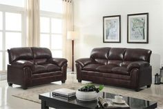 JMD Furniture's Fourth of July Sale is Happening Right Now! Burgundy Sofa and Love Seat Brand New High Quality for only $529.99! #sofa #loveseat #leather #furnituresale #fourthofjulysale