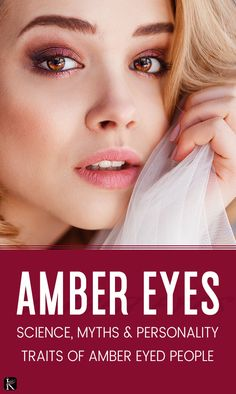 Amber eyes are really rare but look stunning. According to scientific data, only of the world's population has amber eyes. Some say it is a golden colour. Amber Eyes Color, Red Eye Causes, Kohl Makeup, Vitreous Humour, Eye Facts, Dark Spots On Face, Metabolic Disorders, Self Treatment, Golden Eyes