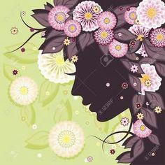 Woman flores
