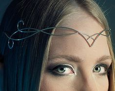 Sindar elven crown tiara circlet small and elegant