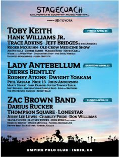 Stagecoach 2013 Lineup !!!
