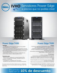 ¡Servidores Dell Power Edge a precios que no podrás creer!