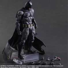 BATMAN V SUPERMAN Batman Action Figure Revealed From Square Enix — GeekTyrant