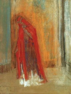 Oriental Woman by Odilon Redon   Medium: pastel on paper