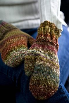 Olivers! by SourCherries - love these colors for a basic mitten pattern.  You can never ever have too many mittens! ....or socks.