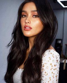 ✨ ✨ styled by hair by and make up ny Pretty Eyes, Beautiful Eyes, Native American Girls, Filipina Actress, Cute Beauty, Hair Health, Woman Face, Dark Hair, Foto E Video