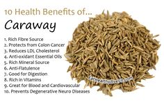 10 Health Benefits of Caraway | Eating Healthy Living Fit - EatHealthyLiveFit.com