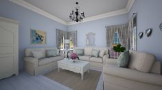 france by sacikae. A design living room with products like the Living Room Designs, Couch, France, Furniture, Home Decor, Settee, Decoration Home, Sofa, Room Decor