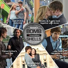 Bombshell moments for Auggie