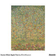 Shop Gustav Klimt Apple Tree Wood Wall Art created by KlimtMuseum. Klimt Prints, Inspirational Text, Apple Tree, Gustav Klimt, Wood Wall Art, Wood Print, Artwork, Work Of Art, Wooden Wall Art