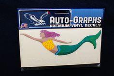Mermaid car decal