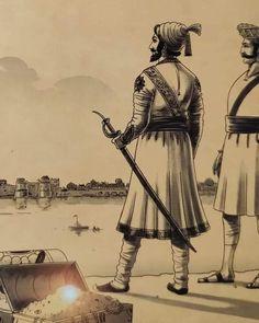 Shivaji Maharaj Painting, Shivaji Maharaj Hd Wallpaper, Great Warriors, Hindus, Vr, Cartoon Characters, Joker, Android, Sketch