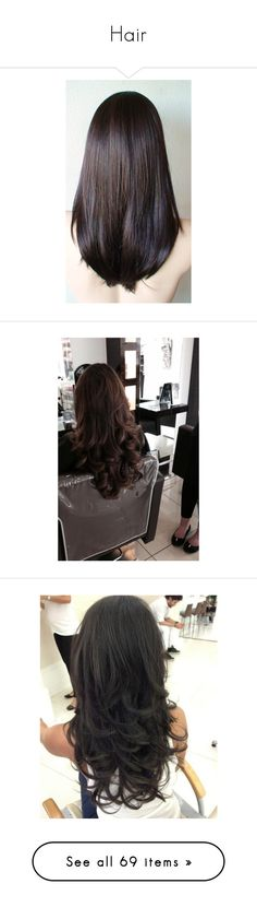 """""""Hair"""" by gracebeckett ❤ liked on Polyvore featuring beauty products, haircare, hair styling tools, hair, hairstyles, hair styles, coiffures, accessories, hair accessories and barrette hair clips"""