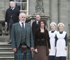 "3/27/14  6:41a "" Downton Abbey""  Peter Egan and Phoebe Nicholls make their first appearance in the Downton Abbey Christmas Special as married couple Hugh ""Shrimpie""  MacClare and Susan MacClare   His Title  Marquess  of  Flintshire.  Season3/Ep8/Finale."