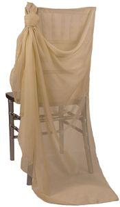 Venus Champagne Chair Sleeve