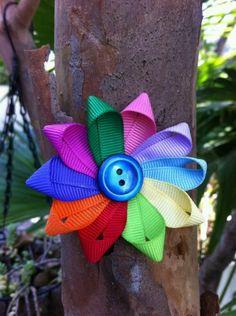 Rainbow bow!
