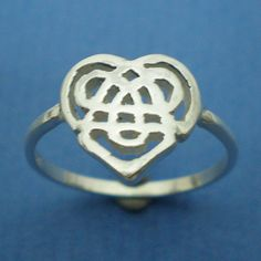 Celtic Sister Knot Ring  Sisterhood Knot by yhtanaff on Etsy, $25.00