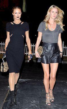 PARIS HILTON & NICKY HILTON The hotel heiresses step out in L.A. #celebs #parishilton #nickyhilton