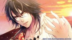 Leon【Reine Des Fleurs】Oh god, another yellow-eyed handsome guy with dark hair *_* And this expression... Beautiful