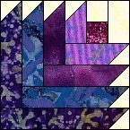 CompuQuilt Free Quilt Patterns. - Buttercup quilt block and quilt