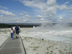 11. The geothermal areas of Yellowstone National Park