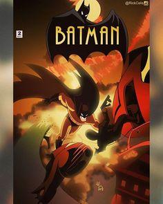 After #GregCapullo and @ssnyder1835 BATMAN V2 02 #New52BamanTAS #BringbackBatmanTAS Batman TAS + Capullo homage  #Batman #btas #New52 #BatmanTas #rebirth #rickcelis